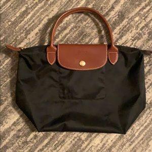 Medium black Longchamp Bag